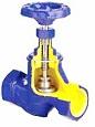 Вентиль запорный резьбовой V201 Ду 10-50, Ру 16