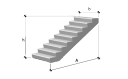 Лестничный марш 1ЛМ 30.11.15-4 серия 1.151.1-7.1 вып.1