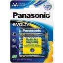 Батарейка Panasonic EVOLTA AA LR6EGE/4BP, 1,5V