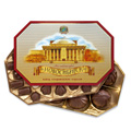 Конфеты в коробках Мой любимый город Новосибирск