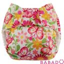 Подгузник butterflies Mini Nappi Swaddlebees