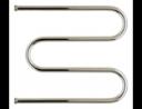 Полотенцесушитель водяной Стилье М-образный 600х500 резьба-сгон 1