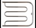 Полотенцесушитель водяной Стилье Тандем 500х650 резьба-сгон 1