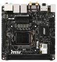 Материнская плата MSI Z87I Socket-1150 Intel Z87 DDR3 mini-ITX AC`97 8ch(7.1) 2xGgE SATA3 RAID+DVI+H