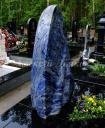 Памятник Стела из синего гранита