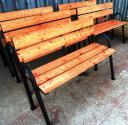 Скамейка со спинкой 1,2 м.