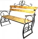 Скамейка садовая кованная ИС1