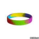 Силиконовые контрольные браслеты с логотипом