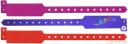 Виниловые контрольные браслеты с логотипом