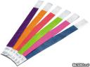 Бумажные контрольные браслеты с логотипом