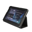 Чехол LaZarr Booklet Case для Samsung Galaxy Note (10.1)-GT-N8000, эко кожа, черный