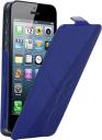 Чехол Kenzo Glossy Logo Case для iPhone 5 кожа синий
