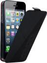 Чехол Kenzo Glossy Logo Case для iPhone 5 кожа черный