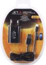 Универсальнoе ЗУ Jet.A UC-S7 от сети 220В (1 USB-порт, 1А,кабель micro USB в комплекте)