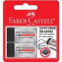 Ластик Faber-Castell Dust-free 187171 для графитных карандашей однородный черный