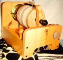 Ручное прядение собачьей шерсти: колли, ньюфаунленд, кавказец