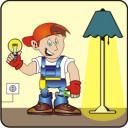 Монтаж потолочных светильников, замена светильников, подключение светильников