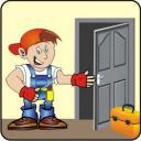 Вскрытие замка деревянной двери