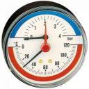 Термоманометр, заднее центральное подключение