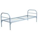 Кровать металлическая одноярусная усиленная сетка сварная 100*100 мм (1 перемычка)