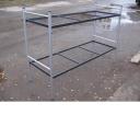 Кровать металлическая двухъярусная усиленная сетка сварная
