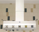 MZ Liberec VK07, потолочная бесплечевая консоль с регулируемой высотой