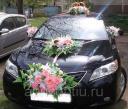 Украшение машины на свадьбу № 20