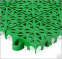 Садовое пластиковое модульное покрытие