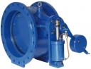 Обратный клапан DN600 PN10 двуэкцентричный, с противовесом FIG.5011, Valvotubi (Италия)