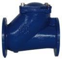 Обратный клапан шаровый фланцевый FIG.408 DN350 PN16