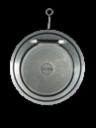 Обратный клапан межфланцевый DN125 PN10, AV-1450, Valar, корпус и диск нержавеющая сталь SS-304