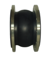 Компенсационная вставка DN600 PN10, фланцевая, резиновый корпус AV-2001, Valar
