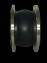 Компенсационная вставка DN400 PN10, фланцевая, резиновый корпус AV-2001, Valar