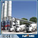 Бетонный завод, двухвальный смеситель, HZS90