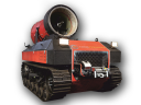 Мобильная роботизированная установка пожаротушения