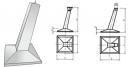 Фундаменты под металлические опоры