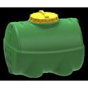 Горизонтальная емкость 500 литров