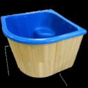 Купель для бани (деревянное оформление в стоимость не входит)