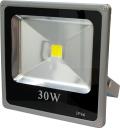 30W/Белый/Эконом, светодиодный прожектор, 30W, 6000К, 30000 часов работы