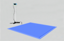 Врезные платформенные весы ВСП4-В 300/0.1 1000х1000 мм