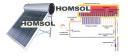 Солнечный коллектор (водонагреватель) - серия AQUA IP