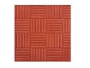 Плитка дорожно тротуарная ПАРКЕТ 300х300х30 (красная)