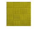 Тротуарная плитка для дачи ПАРКЕТ 300х300х30 (желтая)
