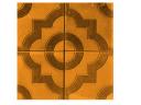 Производители тротуарной плитки Фантазия 300х300х30 (оранжевая)