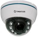 Внутренняя купольная видеокамера TSc-Di720pAHDv (2.8-12)