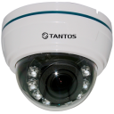 Внутренняя купольная AHD видеокамера TSc-Di1080pAHDv (2.8-12)