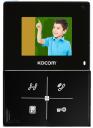 Монитор цветного видеодомофона KCV-401EV (черный)