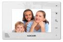 Монитор цветного видеодомофона KCV-A374SD (белый) Vizit