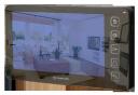 Монитор цветного домофона Prime SD (Mirror) black Vizit