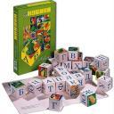 Деревянные кубики Азбука 24 дет.